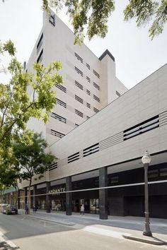 fachadas ventiladas - sistema masa - hotel drassanes