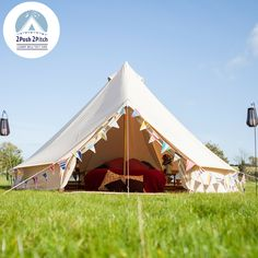Bell Tent Decor Glamping Essentials  The Glam Camping Company  Want  Pinterest