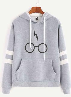 Neuf Filles Harry Potter Thème Sweat à Capuche Pull Sweat 2 Tailles