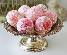 lacy eggs | Flickr - Photo Sharing!