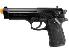 beretta 92 fs spring airsoft pistol black  0240 caliberAirsoft Gun -- You can get additional details at the image link.