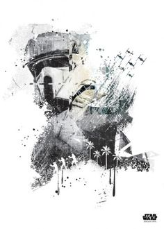 scariftrooper stormtrooper starwars star wars rogue one rogueone jammed transmission rogueonejammedtransmission StarWars