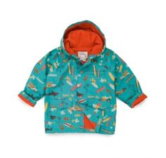 Hatley Surfs Up Raincoat at Wellies and Worms