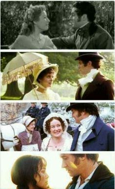 Pride and prejudice in many years! ♥