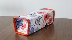Zip Up Tray Pouch by HilltopCustomDesigns