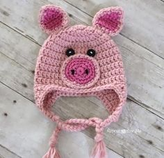 40 Free Crochet Animal Hat Patterns