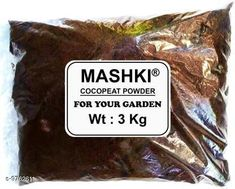 Checkout this latest Fertilizer & soil Product Name: *COCOPEAT POWDER 3 KG - 100% NATURAL AND ORGANIC COCOPEAT / COIRPITH POWDER ORGANIC Soil Manure * Capacity: 3 kg Pack: Pack of 1 Country of Origin: India Easy Returns Available In Case Of Any Issue   Catalog Rating: ★4.2 (689)  Catalog Name: COCOPEAT POWDER 3 KG - 100% NATURAL AND ORGANIC COCOPEAT / COIRPITH POWDER ORGANIC Soil Manure??1180462 CatalogID_1733192 C133-SC1608 Code: 591-9762611-534