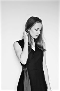Women Wear, High Neck Dress, Author, How To Wear, Black, Dresses, Fashion, Turtleneck Dress, Vestidos