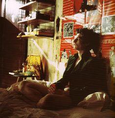 Louis Garrel stars as Theo in Bernardo Bertolucci's, 'The Dreamers'