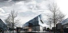 Architecture For Future-Architecture.Urbanism.Interior.Art.Technology — Varna Library - a new space for the city of Varna
