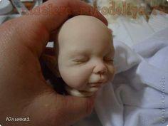 Master class on sculpting dolls OOAK. Part 2 Polymer Clay People, Polymer Clay Dolls, Sculpting Tutorials, Doll Making Tutorials, Clay Projects, Clay Crafts, Master Class, Bjd, Little Girl Crafts