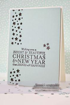 Sannie's Scrapzolder: Wishing you kaart