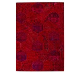 Found it at Wayfair - Honey Comb Siena Red Area Rug