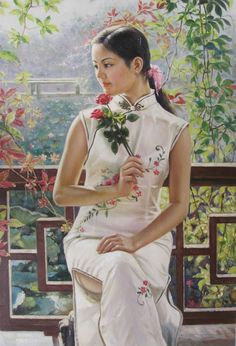Asian beauty ~ artist undetermined
