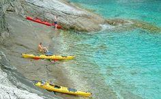 Sea Kayaking on Lopud Island, Croatia