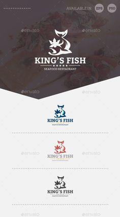 King's Fish Logo Template
