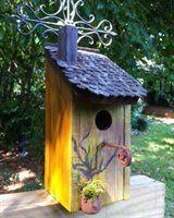 Wilderness Series WSBH129 Cozy Cottage Bird House