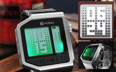 Kisai Intoxicated watch comes with breathalyzer and sobriety test