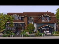 The Sims 3 - House Building - Saddle Stone