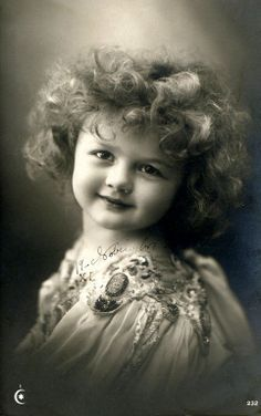 Vintage Picture of Little Girl