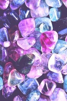 Iphone wallpaper on We Heart It Crystals Minerals, Crystals And Gemstones, Stones And Crystals, Healing Crystals, Gem Stones, Cute Backgrounds, Cute Wallpapers, Iphone Wallpapers, Iphone Backgrounds