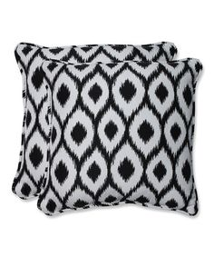 Look what I found on #zulily! Bella-Dura Shivali Throw Pillow - Set of Two #zulilyfinds