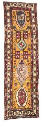 SHAHSEVAN RUNNER  NORTH WEST PERSIA, CIRCA 1860   10ft.10in. x 3ft.2in. (329cm. x 97cm.) I Christie's Sale 7039