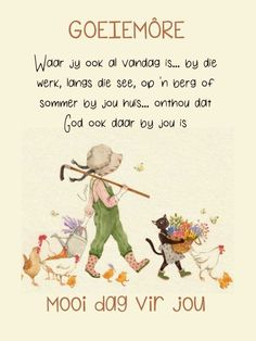 Morning Blessings, Good Morning Wishes, Day Wishes, Good Morning Quotes, Lekker Dag, Afrikaanse Quotes, Goeie More, Verses, Bible