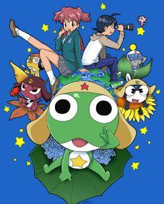 Keroro Gunso by Eunice-P.deviantart.com  - Sergeant Frog