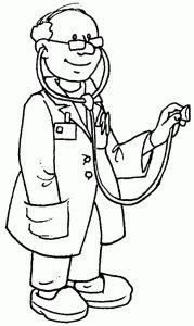 desenhos colorir imprimir profissoes medico (2)