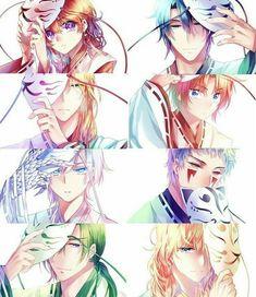 Akatsuki no Yona [Yona of the Dawn] Anime Shojo, Manga Anime, Shoujo, Anime Akatsuki, Akatsuki No Yona Characters, Manga Love, Image Manga, Anime Kawaii, Anime Style