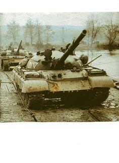 T-62 at maneuver of Soviet Army 1986.