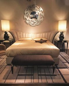 Hard to get up in the morning when you have such a comfy bed! Come by the showroom suite to see our latest designs. Neutral Bedrooms, Trendy Bedroom, Luxurious Bedrooms, Modern Bedroom, Bedroom Ideas For Couples Modern, Living Room Bedroom, Bedroom Decor, Diy Closet Doors, Sliding Room Dividers