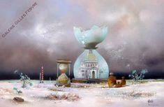 Louйdin - Les Sabliers de Venise - Galerie Gilles Febvre