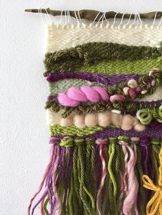 Rapunzel Woven Wall Hanging Fairytale Art Decor Once Upon a Weaving Wall Hanging, Weaving Art, Tapestry Weaving, Loom Weaving, Hand Weaving, Textiles, Fairytale Art, Weaving Projects, Tear