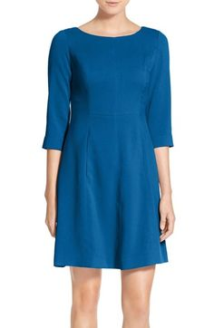 Vince Camuto Crepe A-Line Dress (Regular & Petite) available at #Nordstrom $88
