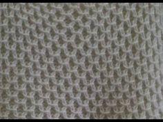 Fashion and Lifestyle Knitting Videos, Knitting Stitches, Knitting Projects, Knitting Patterns, Tunisian Crochet, Knit Crochet, Baby Dress, Lana, Cross Stitch Patterns