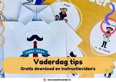 Knutseltips voor vaderdag - Onder, midden en bovenbouw - MeesterSander.nl Computer Tips, School