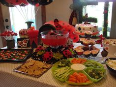 Lady Bug Birthday party for my 1 year old