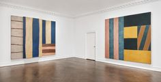 Sean Scully / gallery view / The Eighties solo show / Mnuchin Gallery / NY / 2016