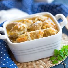 Veau marengo en cocotte 20 Min, Macaroni And Cheese, Meat, Chicken, Ethnic Recipes, Desserts, Food, Bravo, Marie Claire