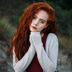 Beauty and redheads