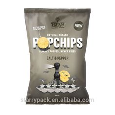 Custom printed laminated potato chips packaging bags