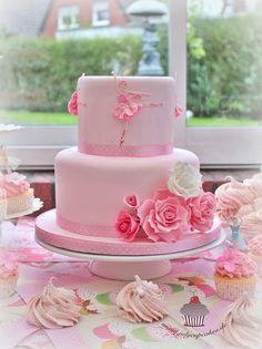 Birthday Ballerina Cake   Flickr - Photo Sharing!