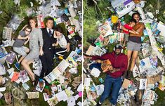 Personifying the Waste Problem: Photos of People Lying in 7 Days of Their Own Trash - http://thedreamwithinpictures.com/blog/personifying-the-waste-problem-photos-of-people-lying-in-7-days-of-their-own-trash