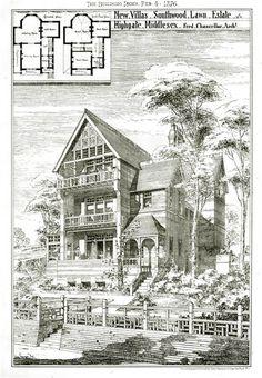 1876 - Southwood Lawn Estate, Highgate, London - Archiseek.com
