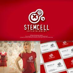 Stem Cell Logo design