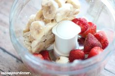 Eat Cake For Dinner: Skinny Strawberry Banana Ice Cream