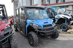 New 2017 Polaris RANGER CREW XP 1000 EPS Northstar HVAC E ATVs For Sale in Minnesota. 2017 Polaris RANGER CREW XP 1000 EPS Northstar HVAC Edition Velocity Blue,