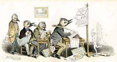Grandville engravings